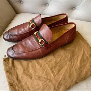 Men's Gucci Jordaan leather loafers